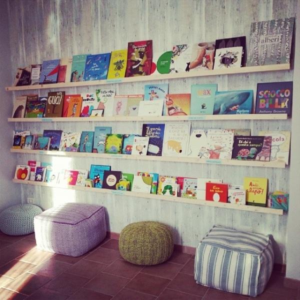 Babyfriendly gli aderenti for Mobile libreria per bambini